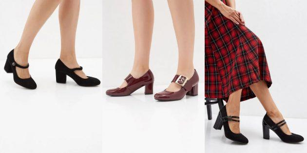 Модная женская обувь весны 2020 года: Туфли в стиле Мэри Джейн