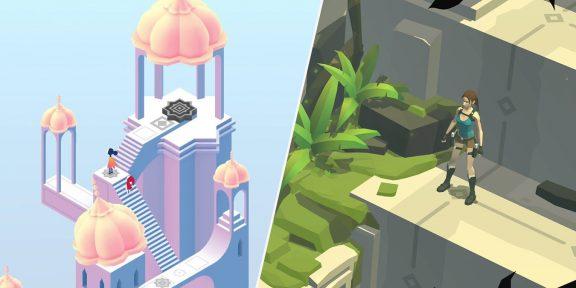 Monument Valley 2 и Lara Croft Go раздают бесплатно и навсегда для мобильных устройств