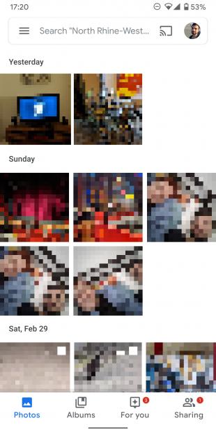 «Google Фото» получает новый интерфейс и меню