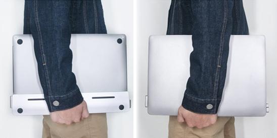 Штука дня: DGRule — минималистичная подставка-хаб для MacBook