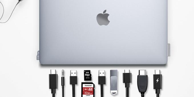 DGRule — минималистичная подставка-хаб для MacBook
