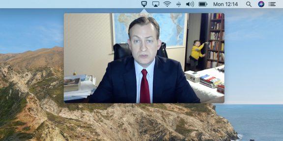 Hand Mirror — бесплатная утилита для Mac, которая поможет не опозориться на видеосовещании
