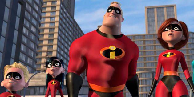Смешные мультфильмы: «Суперсемейка»