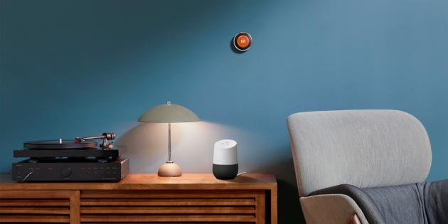 Устройства Google: умный термостат Nest Learning Thermostat