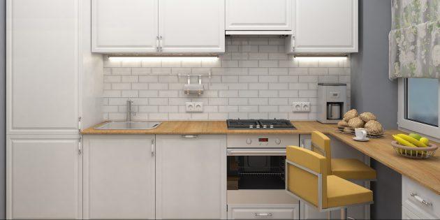 Ремонт кухни: подсчитайте необходимое количество розеток