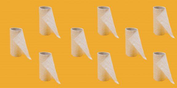 Сайт дня: How much toilet paper? поможет рассчитать, сколько туалетной бумаги вам понадобится на карантин