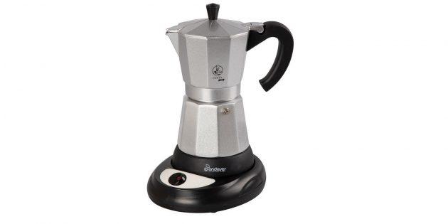 Электрическая гейзерная кофеварка EndeverCosta-1010