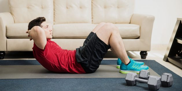 как мужчине ухаживать за собой: продолжать тренироваться
