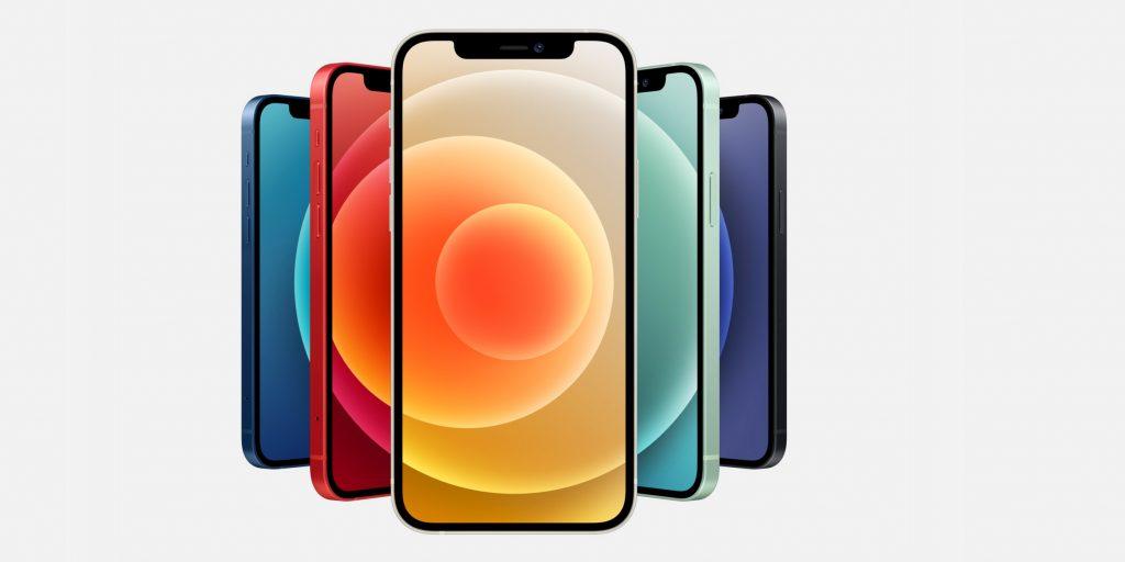 Сравнение iPhone: доступные цвета