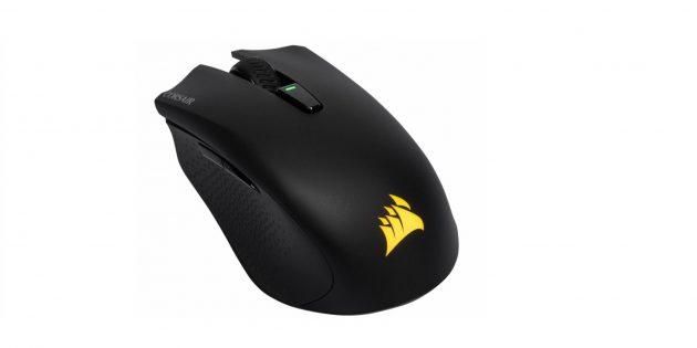 как выбрать игровую мышь: Corsair Harpoon RGB Wireless