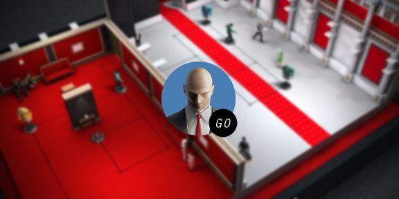 Hitman GO для Android и iOS временно стал бесплатным