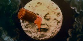 Видео дня: фильм «Путешествие на Луну» 1902 года в цвете и 4К-разрешении