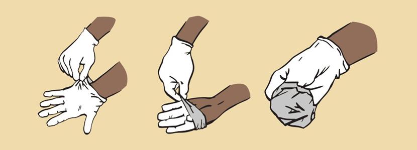 перчатки коронавирус