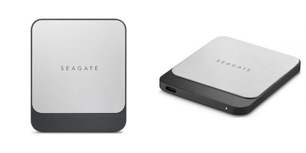 Лучшие SSD: Seagate Fast (STCM250400)