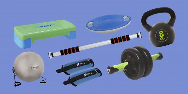 15 товаров для домашних тренировок дешевле 2 500 рублей