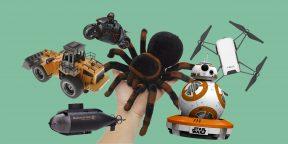 20 занимательных игрушек на радиоуправлении для детей и взрослых