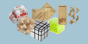 20 занимательных конструкторов и головоломок для детей и взрослых