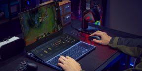 Штука дня: полноценный игровой ноутбук Asus с двумя экранами