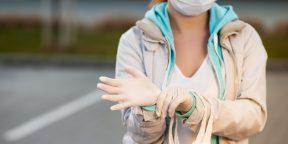 Нужно ли носить одноразовые перчатки во время пандемии