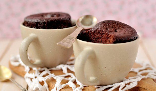 Порционный шоколадный торт