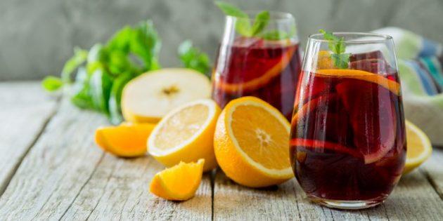 Продукты на карантин: Соки и газированные напитки