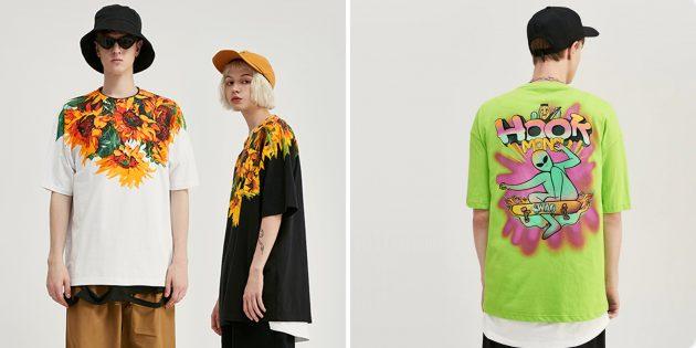 Магазины AliExpress с крутыми футболками: Inflation