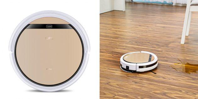 Робот‑пылесос iLife