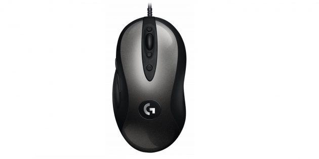 как выбрать игровую мышь: Logitech MX518Legendary