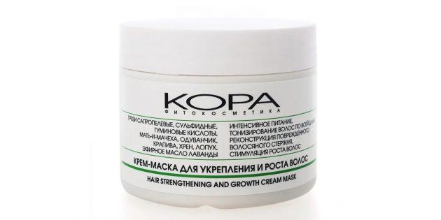 Эффективные маски для волос: «Кора»