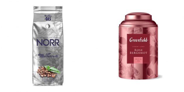 Чем закупиться во время самоизоляции: Кофе и чай