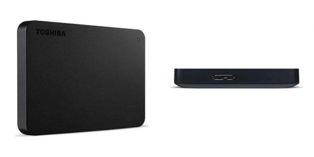 Внешние жёсткие диски: Toshiba Canvio Basics