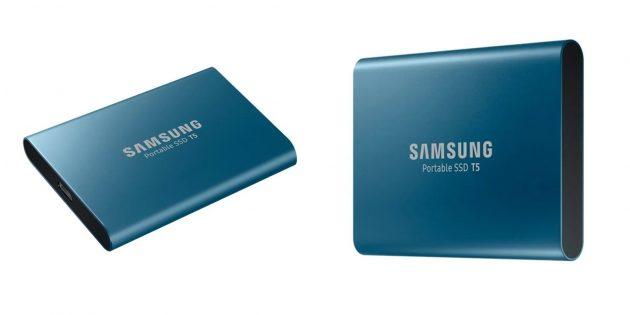 Твёрдотельные накопители: (SSD)Samsung T5 (MU-PA250B/WW)