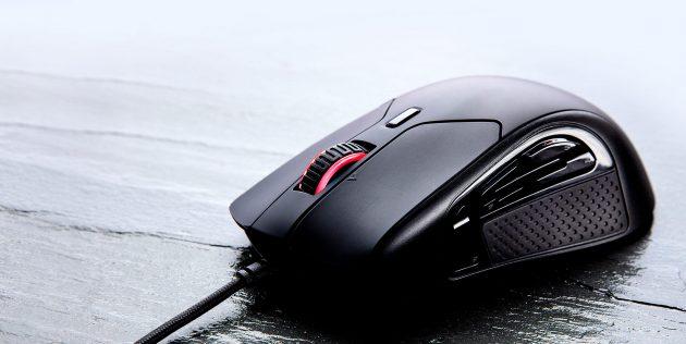 как выбрать игровую мышь: HyperX PulseFire Raid