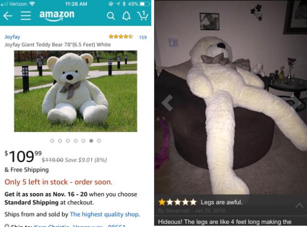 Ожидание против реальности: ещё 15 фото неудачных покупок в интернете