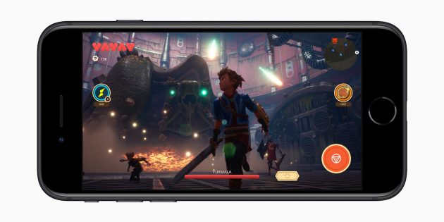 Apple представила бюджетный iPhone SE с Touch ID