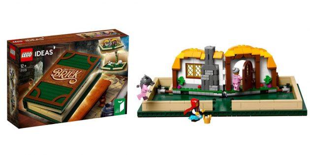 Lego Ideas «Раскрывающаяся книга»
