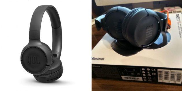 Накладные Bluetooth-наушники JBL