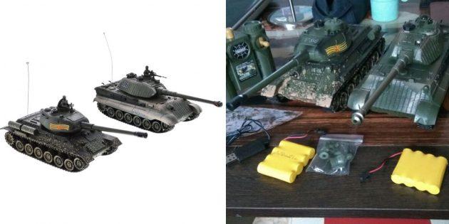 Набор из двух танков