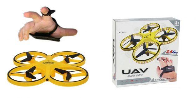 Квадрокоптер с жестовым управлением