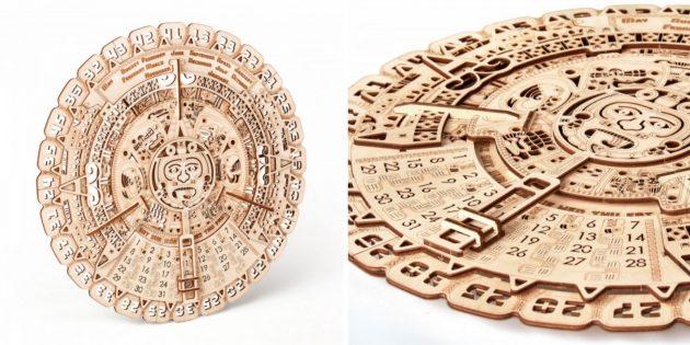 Wood Trick «Календарь Майя»