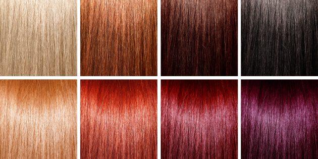 Как покрасить волосы: палитра цветов краски для волос