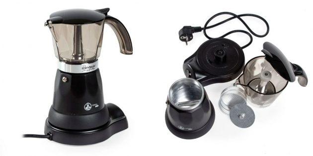 Электрическая гейзерная кофеварка EndeverCosta-102