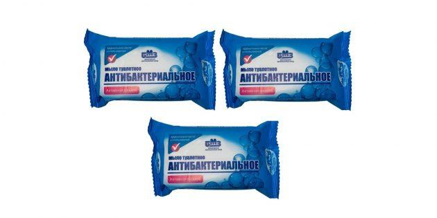 Твёрдое антибактериальное мыло