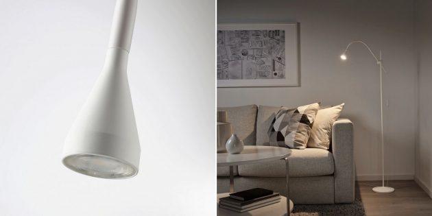 Тонкая напольная лампа «Нэвлинге»