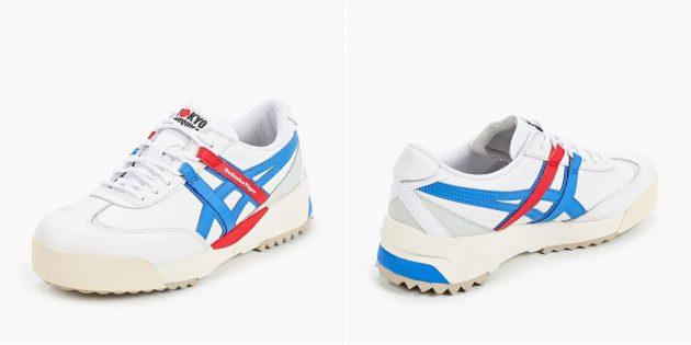 белые кроссовки: Onitsuka Tiger Delegation EX