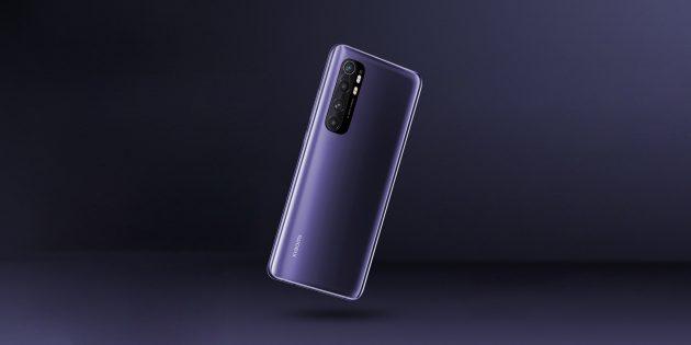 Xiaomi показала Mi Note 10 Lite — бюджетный 5G-смартфон, который работает 2 дня без подзарядки