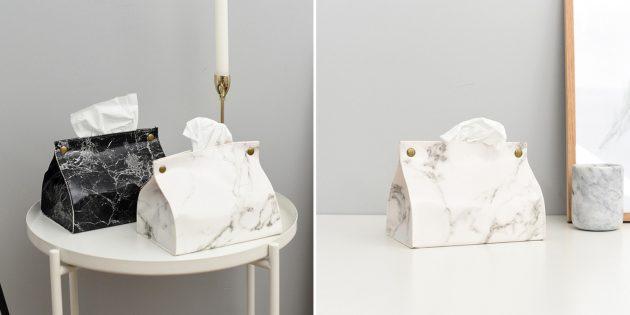 Недорогие товары для дома: чехол для бумажных салфеток