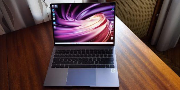 Huawei MateBook X Pro 2020: дизайн