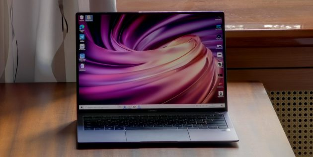 Huawei MateBook X Pro 2020: экран