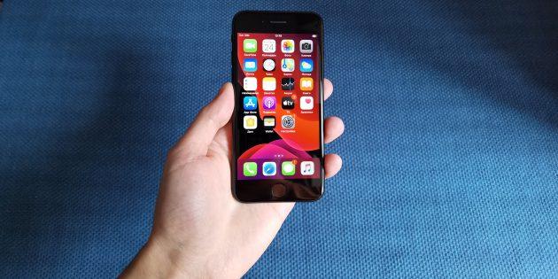 iPhone SE 2020: размер